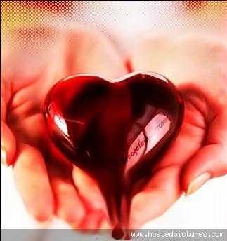 عکس قلب تنها